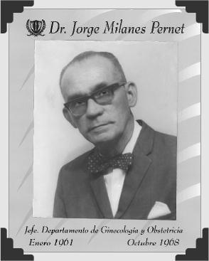 Dr Jorge Milanes Pernet