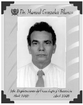 Dr Manuel Gonzalez Blanco