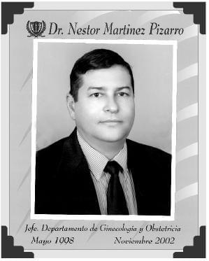 Dr Nestor Martinez Pizarro