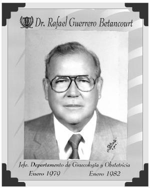 Dr Rafael Guerrero Betancourt
