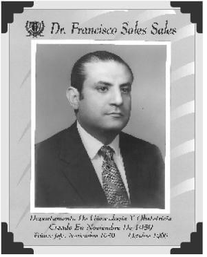 Dr Francisco Soles Sales
