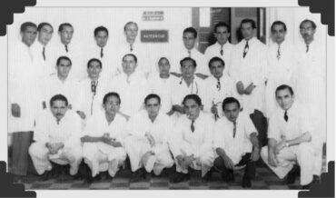 "Hospital Universitario ""Santa Clara"" 1948."