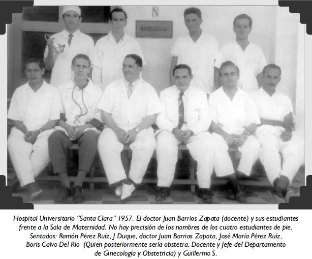 "Hospital Universitario ""Santa Clara"" 1957"
