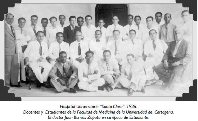 "Hospital Universitario ""Santa Clara"". 1936"