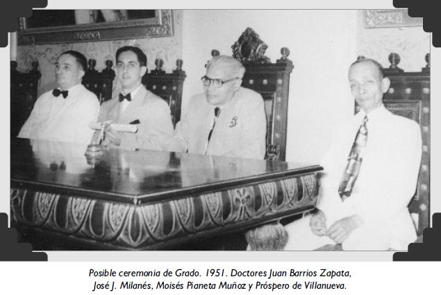 Posible ceremonia de Grado. 1951