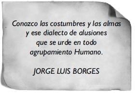 Jorge Luis Borges -Presentación