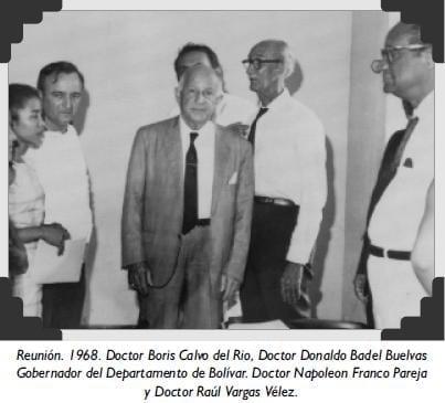 Reunión. 1968. Doctor Boris Calvo del Rio