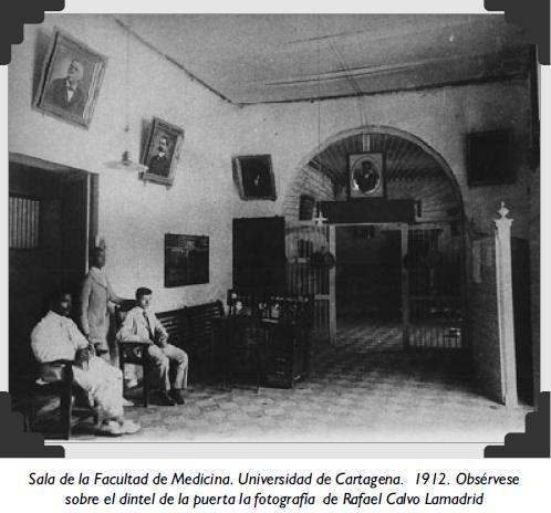 Sala de la Facultad de Medicina