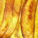 Plátano (tamaño de las porciones)