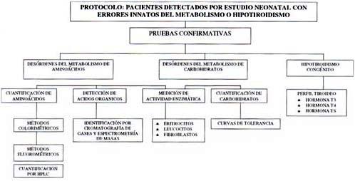 Pacientes detectados por estudios neonatal