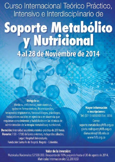 Soporte Metabólico y Nutricional
