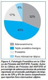 Patología Prostática en la clÍnica de prostata del HUFSFB
