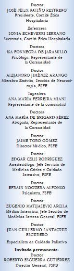 Comité de doctores