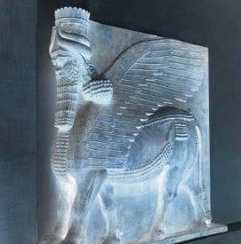 Dios alado asirio