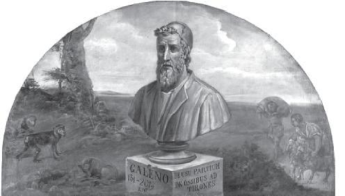 Estatua Galeno