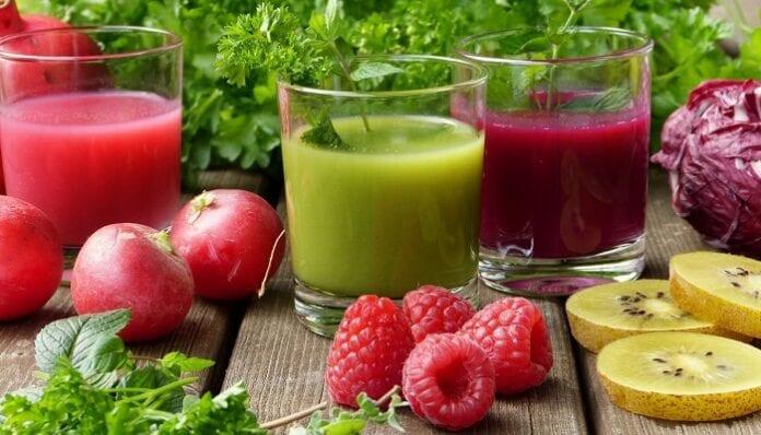 Belleza y salud con jugos