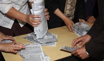 Escrutinio de los Jurados de Votación
