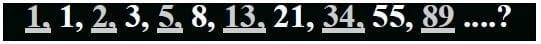 Serie de números Fibonacci