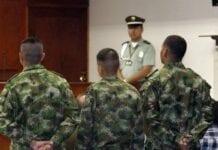 Punibilidad, Militar Colombiana.
