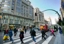 Circulación de los peatones