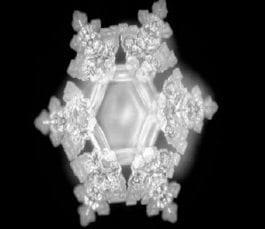 Cristales del agua