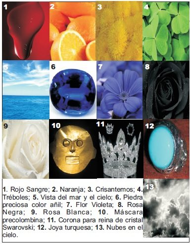 Representación de los colores