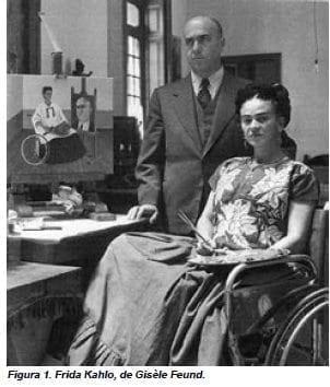 Frida Kahlo, de Gisèle Feund
