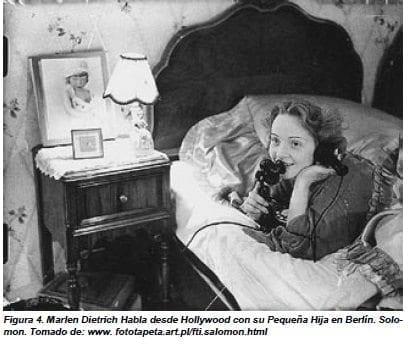Marlen Dietrich Habla desde Hollywood con su Pequeña Hija en Berlín