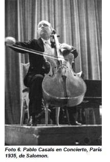 Pablo Casals en Concierto