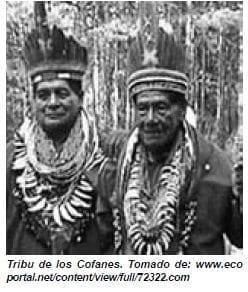 Tribu de los Cofanes