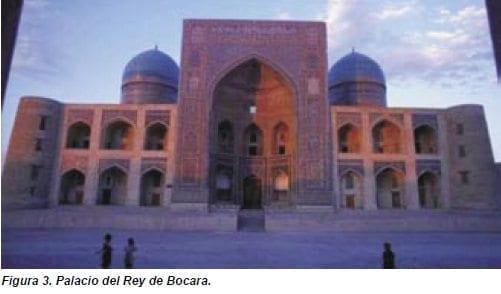 Palacio del Rey de Bocara.
