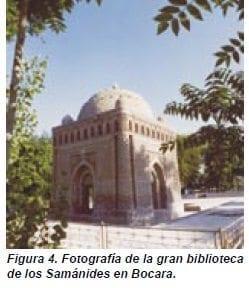 Fotografía de la gran biblioteca de los Samánides en Bocara.