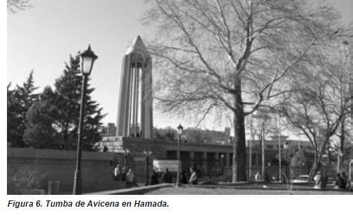 Tumba de Avicena en Hamada.