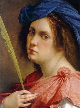 Autorretrato - Artemisa Gentileschi