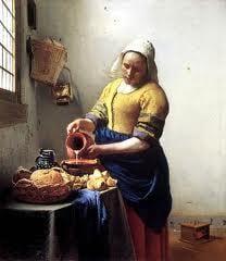 La lechera - Jan Vermeer