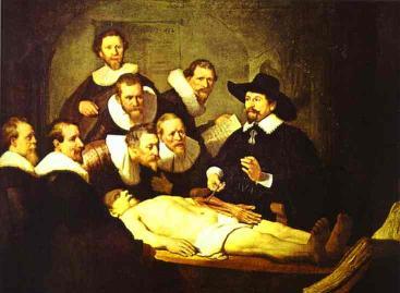 Lección de anatomía - Rembrandt