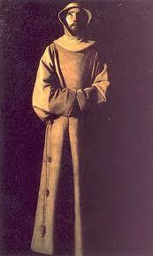 San francisco en éxtasis - Francisco de Zubaran.