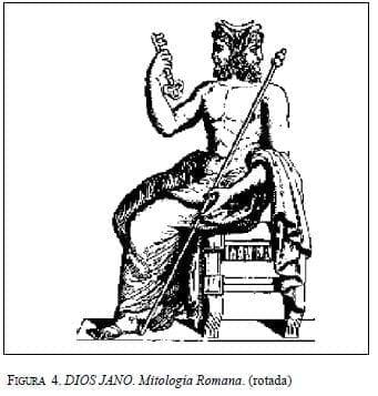 DIOS JANO. Mitología Romana. (rotada)