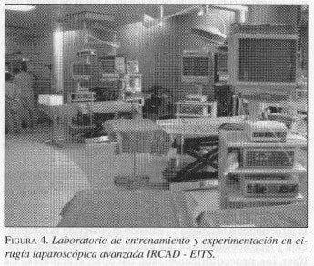 Laboratorio de Entrenamiento y Experimentación en Cirugía Laparoscópica