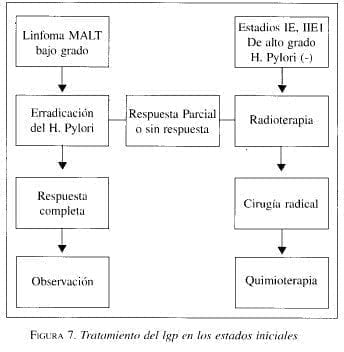 Tratamiento del LRP en los estados iniciales