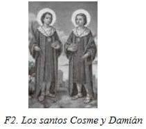 Los santos Cosme y Damián