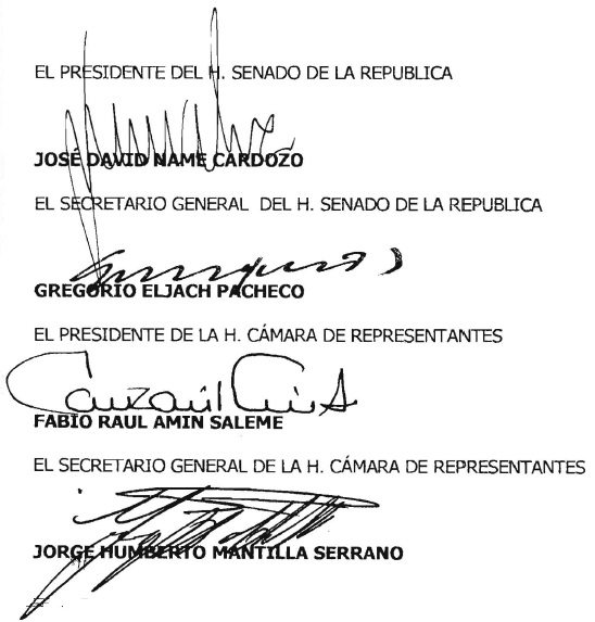 Derecho de la Salud, firmas
