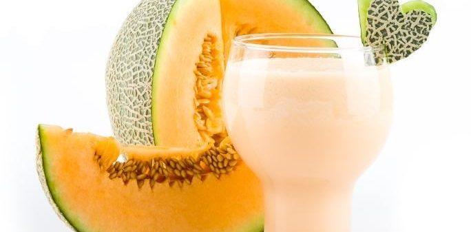 Licuado de amaranto con semillas de melón