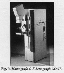 Mamógrafo G E Senograph GOOR.