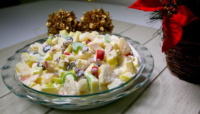 Ensalada de Manzana con Piña y Nueces