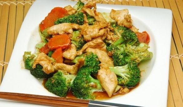 Pollo Con Verduras Chinas Recetas Con Pollo Recetas De