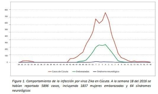 Comportamiento de la Infección por Virus Zika