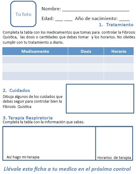 Ficha Técnica para Fibrosis Quistica