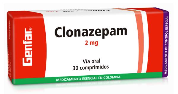 Clonazepam Tabletas 2mg - Genfar