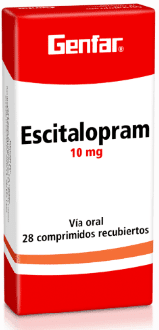 Escitalopram Tabletas 10mg - Genfar